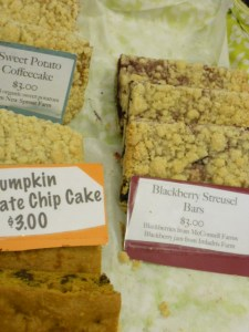Treats from Sweetheart Bakery